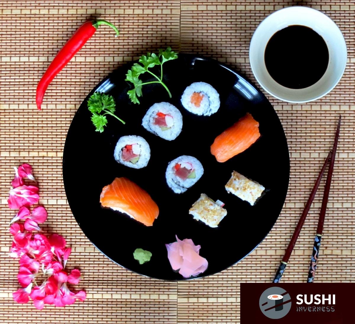 lunch set sushi inverness. Black Bedroom Furniture Sets. Home Design Ideas